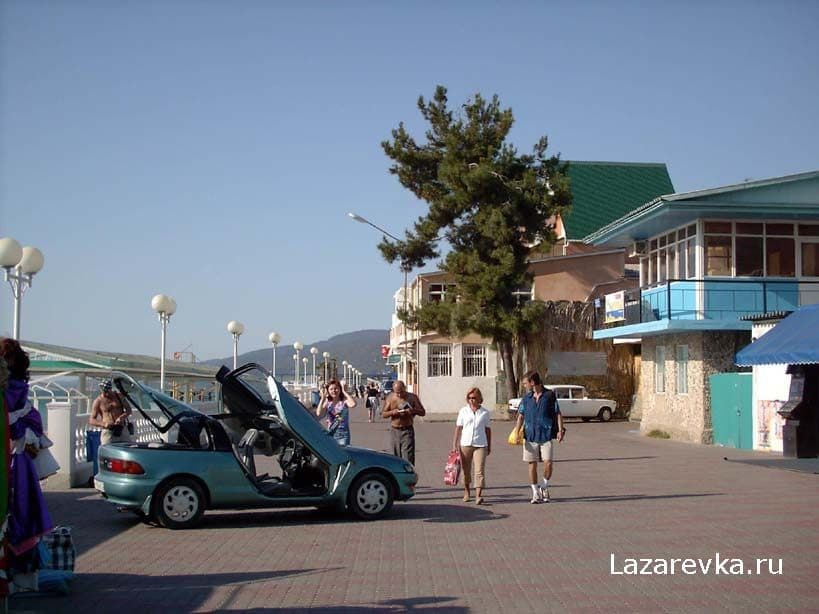 лазаревское набережная фото